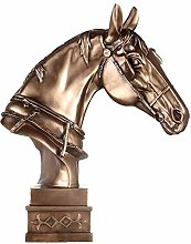 Sculptures Statue de la tête de cheval, Sculpture