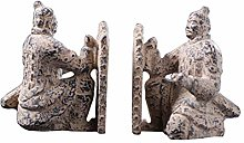 SDBRKYH Sculpture de Guerrier en Terre Cuite,