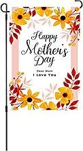 SDFGDSG Joyeuse fête des mères Drapeau Vacances