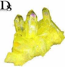 SDJH Ange Naturel Aura Quartz Cristal Titanium