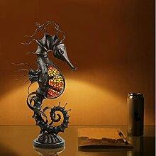 Seahorsetable Light, Lampe De Table Artificielle