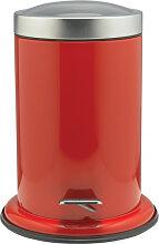 Sealskin Acero Poubelle à pédale 22x28cm Inox