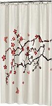 Sealskin Blossom Rideau de douche 180x200cm