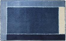 Sealskin Roma Tapis de bain 55x85cm Acrylique bleu
