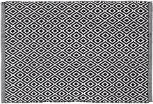 Sealskin Trellis Tapis de bain 60x90cm coton noir