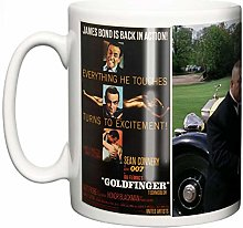 Sean Connery James Bond Goldfinger Tasse en
