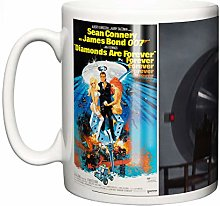 Sean Connery James Bond Tasse en céramique avec