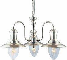 Searchlight - Pêcheur, plafonnier à 3 lampes,