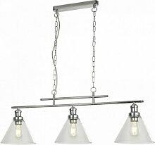 Searchlight - Suspension pyramide 3 ampoules cc