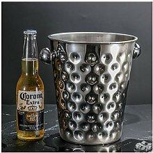 Seau à champagne   Seau à glace en acier