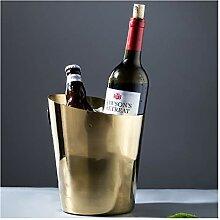 Seau à glace Acier inoxydable godet de glace vin