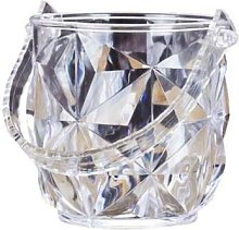 Seau à glace en acrylique pour Bar, Champagne à