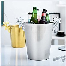 Seau à glace en métal pour champagne, vin, vin