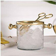 Seau à glace en verre acrylique - 1 l - Seau à
