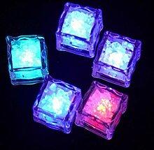 Seau de glace LED glaçons glaçons brillant boule