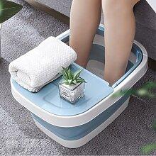 Seau pliable en plastique pour bain de pieds,