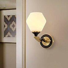 Sebasty Cuivre Applique Chambre Lampe De Chevet