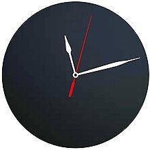 Securit Tableau noir Silhouette Horloge,