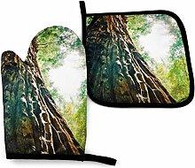 Seiobax Gant de Four et Porte-marmite Big Tree
