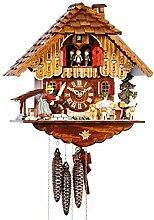 SELVA C341950 Horloge à coucou en bois massif