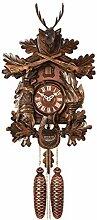 SELVA Horloge à Coucou Style forêt