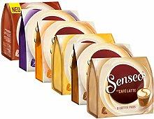 Senseo Creamy Collection Lot de 6 dosettes à