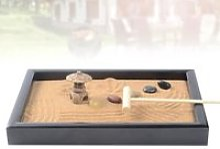 Sentiment de paix Méditation Zen Jardin Bureau