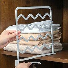 Séparateurs d'étagères de garde-robe pour