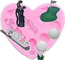 Série de golf Moule en silicone, Cours 3D