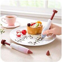 Seringue de décoration pour pâtisserie, crème