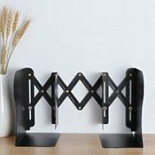 Serre-livre réglable en métal, robuste, design
