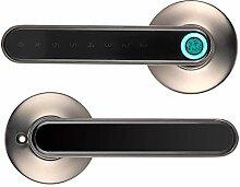 Serrure de porte biométrique à empreinte