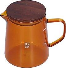 Serveur à café, bouilloire à café 500 ml