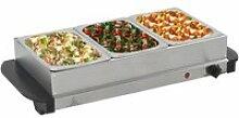 Serveur buffet Acier inoxydable 200 W 3x1,5 L