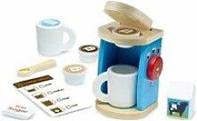 Service a café en bois pour préparation et