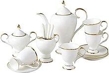 Service à thé 15 pièces en porcelaine avec