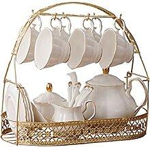 Service à thé 15 pièces simple en céramique