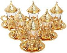 Service à thé au Design authentique turc, turc,
