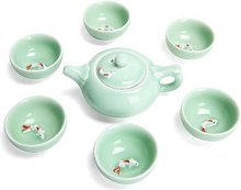 Service à thé chinois, service à thé en