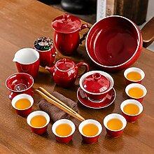 Service à thé en céramique Jilan Ensemble à