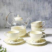 Service à thé en porcelaine - Service à thé de