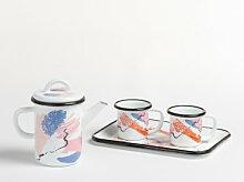 Service à thé Magik 4 pcs. Multicouleur Sklum