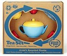 Service à thé theiere bleue 3901074
