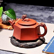 Service à thé théière En Argile Violette