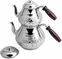 Service à thé Théière En Cuivre Turc