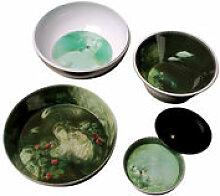 Service de table Yuan /8 pièces empilable -