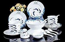 Service de vaisselle 60 pièces Service de