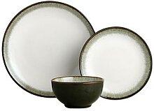Service vaisselle SIA en grès ALGA - 18 pièces -
