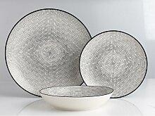 Service vaisselle SIA en porcelaine fine OSIS - 18