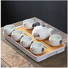 Services à thé Ensemble de China Travel Kung Fu